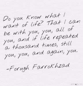 forough farrokhzad poem